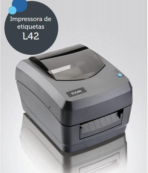 Impressora de Códigos de Barra ELGIN L42